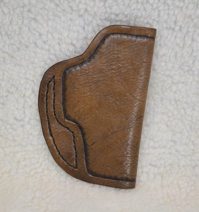 Leather Conceal Carry Holster Left Handed - www.NirvanaCreationsUSA.com