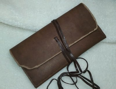 Leather Pencil Case - www.NirvanaCreationsUSA.com